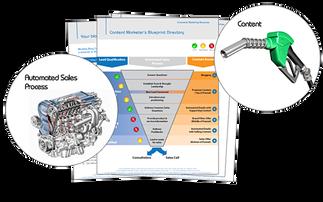 An online sales engine